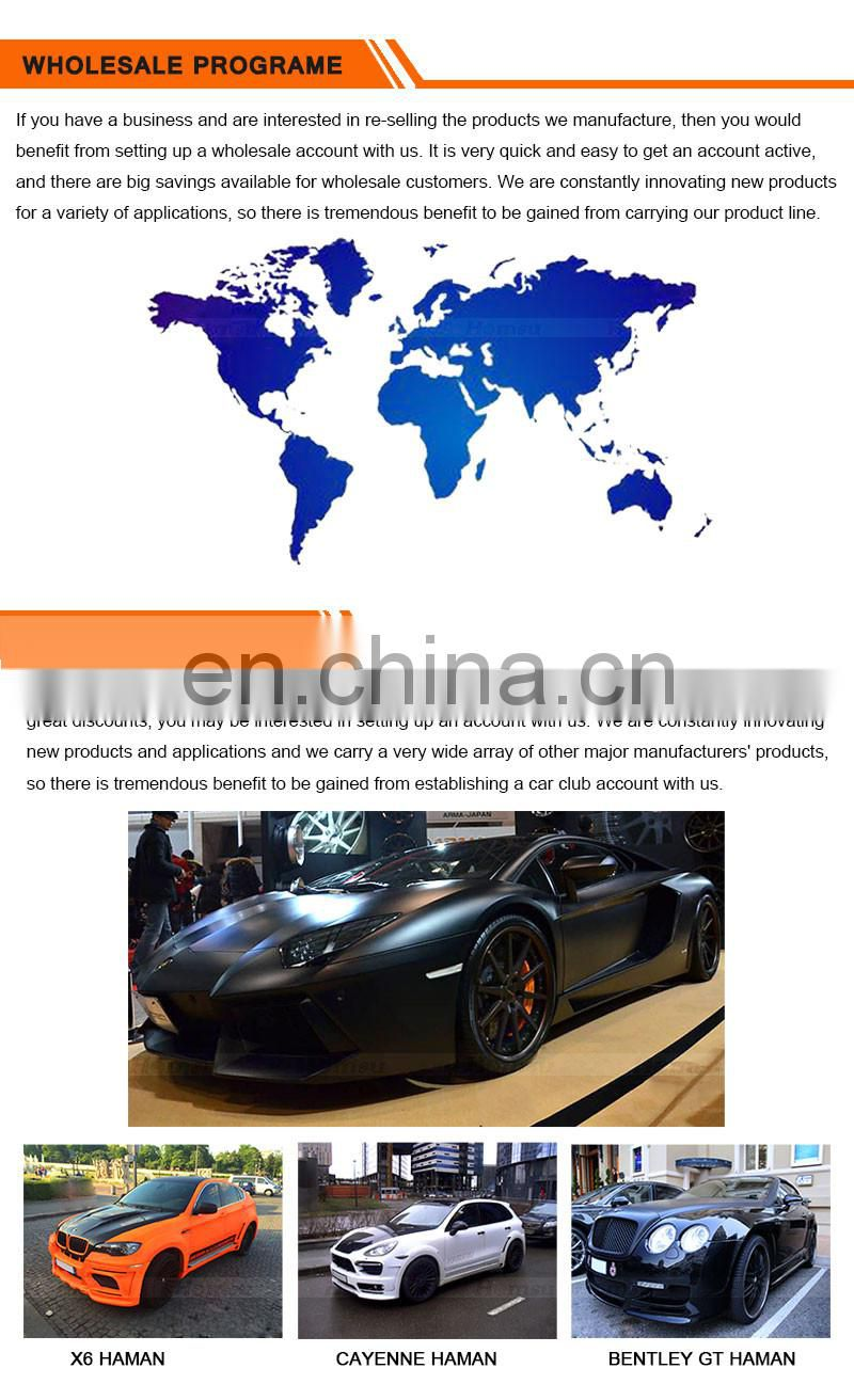3 Fiber glass body kits of 12-15 911 991 V design top quality auto spare Carbon Fiber Material bumper