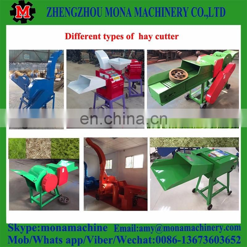 Farm used high quality hammer mill grass straw hay cutter