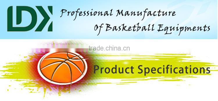 Professional basketball equipment height adjustable basketball hoop for sale