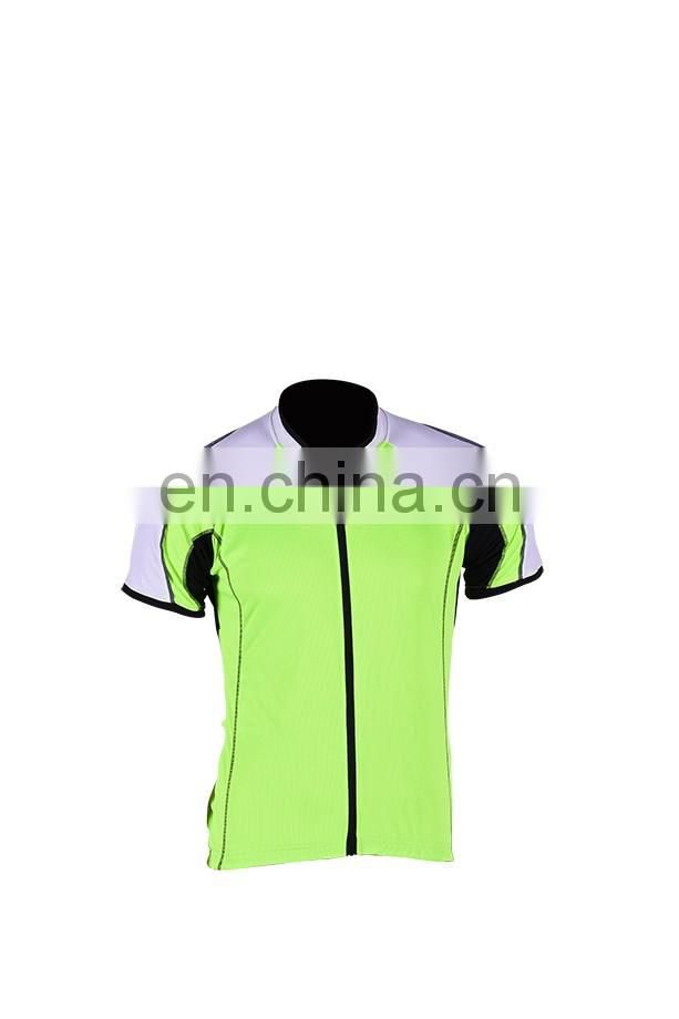 High visibility new design sport yellow cotton jerseys
