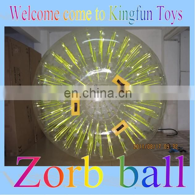 Grass&hill inflatable zorb ball/rolling ball