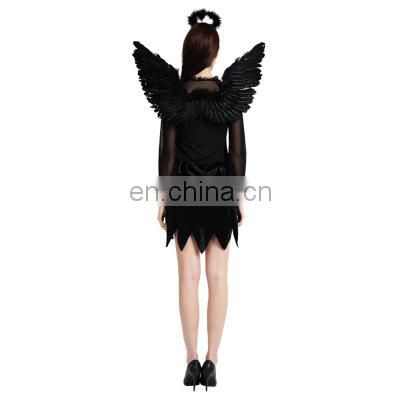 Hot sales Halloween cosplay dark angel cotume for party and Masquerade