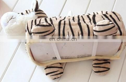 Chinese Stuffed plush car fancy tissue box holder
