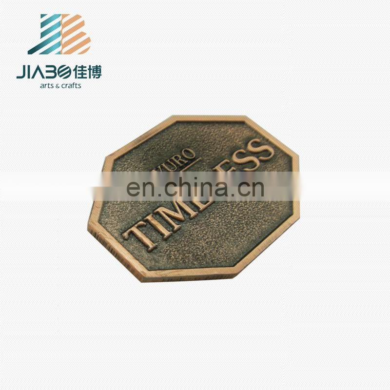High quality custom made cheap price antique copper plating wholesale metal pendants