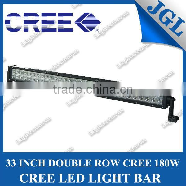 180w Double row LED light Bar Off Road Worklight 4x4 Sport 4WD Cars SUV ATV 12volt TRUCK Farming Light