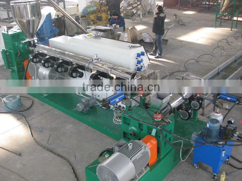 Full Line Hdpe Pelletizing Waste Plastic Recycling Machine