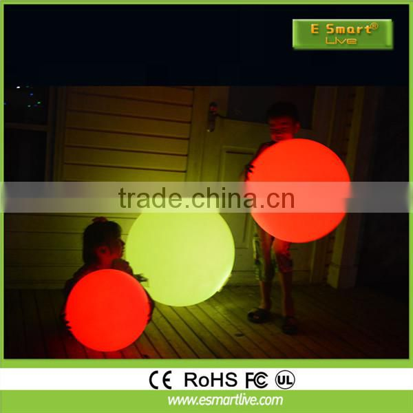 illuminated globe/lighted garden ball/color changi