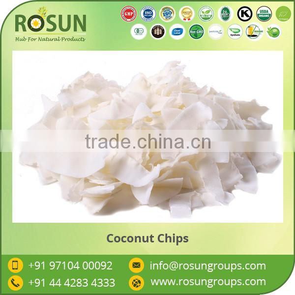 Dessicated Organic Coconut Chips at Competitive Price