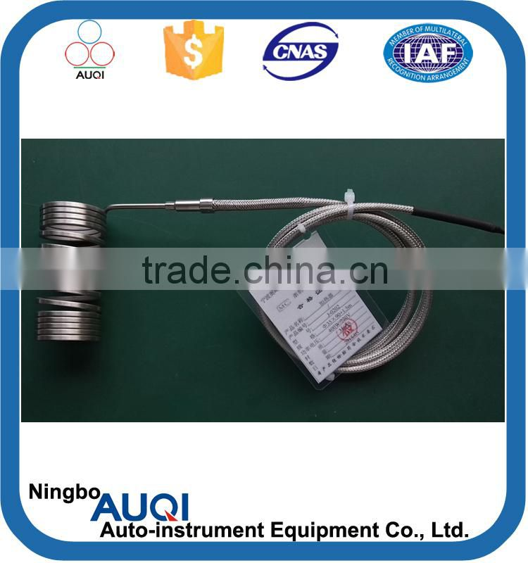 MI mini coil heater with thermocouple, round coil heater for