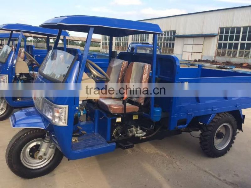 cargoes truck with single diesel engine transformed from diesel tricycle lower price big loading
