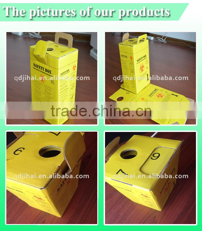 names of surgical instruments carboard safety box/safety box for sharps