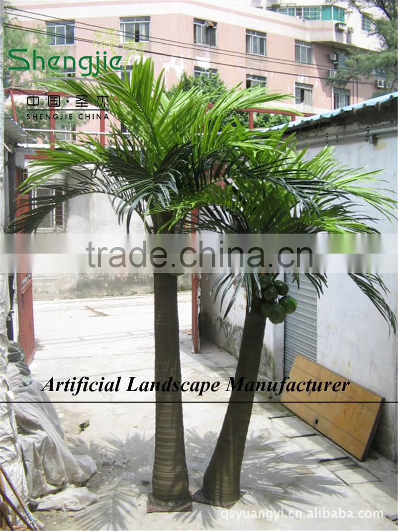 outdoor cheap artificial coconut tree