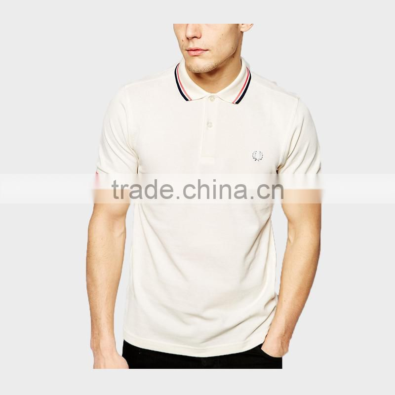 2015 Men's Embroidered Polo Shirt