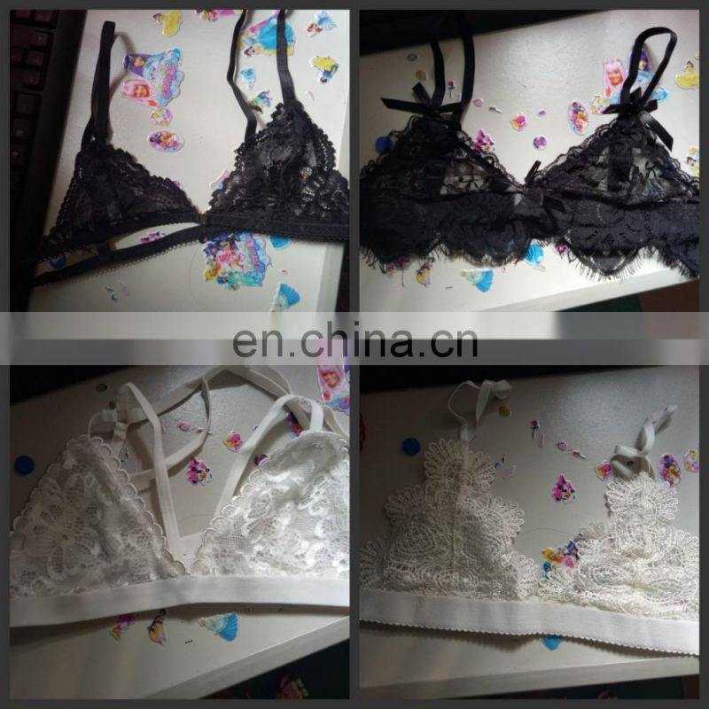 2f4fa6c65dc75 Women fashion Push Up Bralette Street Lace Trim Romantic Bra Set Sexy Lace  Female Shaping Bra ...