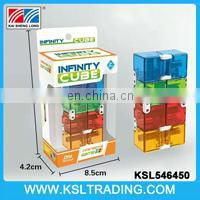 Good design china wholesale infinity hand fidget 3d cube