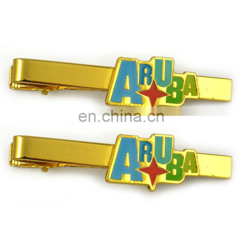 Custom design metal fashion tie clip