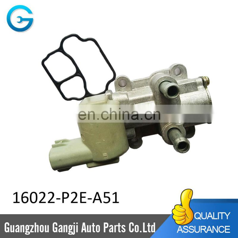 Brand New High Quality Idle Air Control Motor Valve 16022-P2E-A51 16022-P2A-J01 fit for japanese car