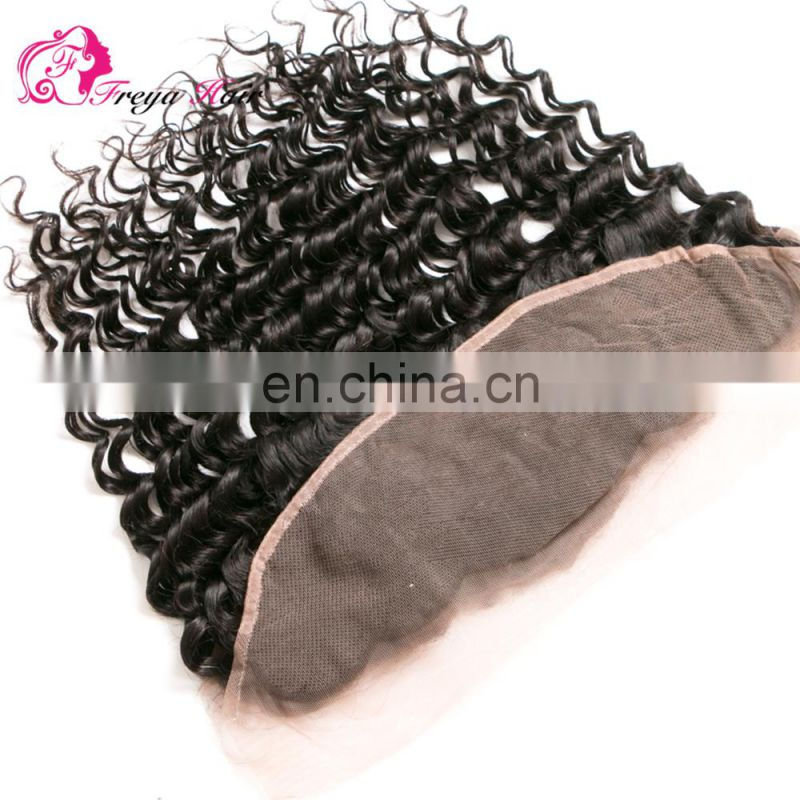 Qingdao Freya hair wholeale brazilian hair 3 bundles with full lace frontal