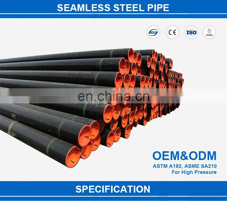 DIN 17175 st 35.8 carbon seamless steel pipes