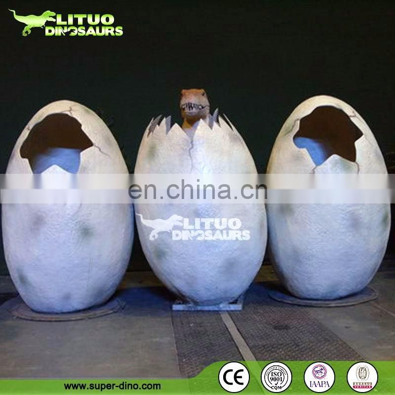 Museum Excibition Life Size Dinosaur Egg Replica