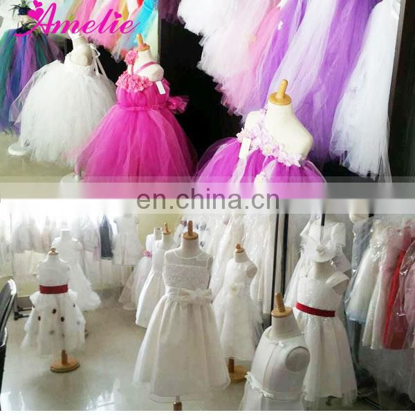 Elegant Lace Kids Wedding Gown