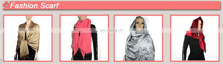 Factory direct low price for women pink cashmere scarf