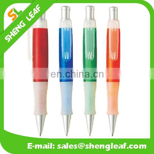 Fat with fold rubber pen funny ball pens