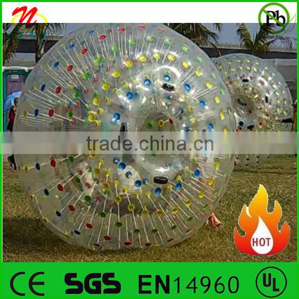 Hot sale body bubble bumper ball kids size inflatable bumper ball for kids