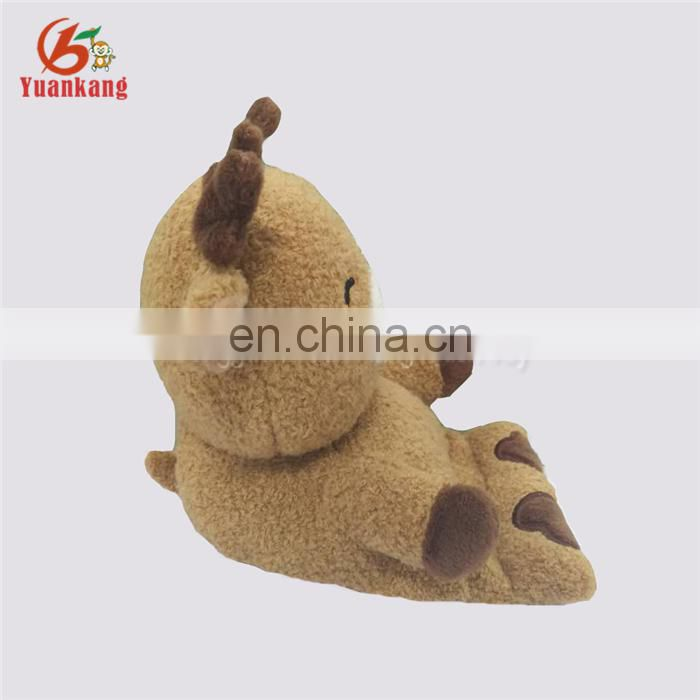 Christmas Promotional Gift Decorative Stuffed Animal Cell Phone Holder Funny Plush Reindeer Phone Holder