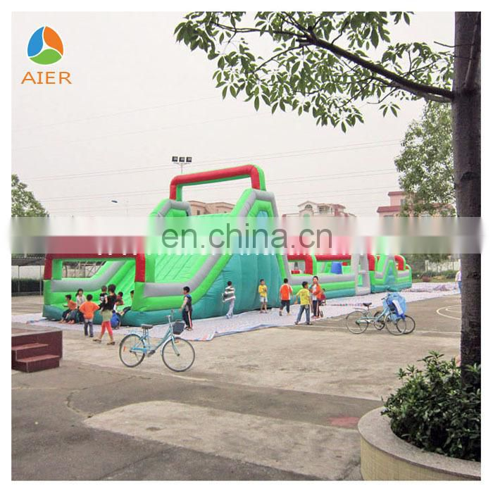 New sport adventure triathlon Inflatable Complex Games
