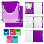 promotional custom PU leather folder and organizer daily planner