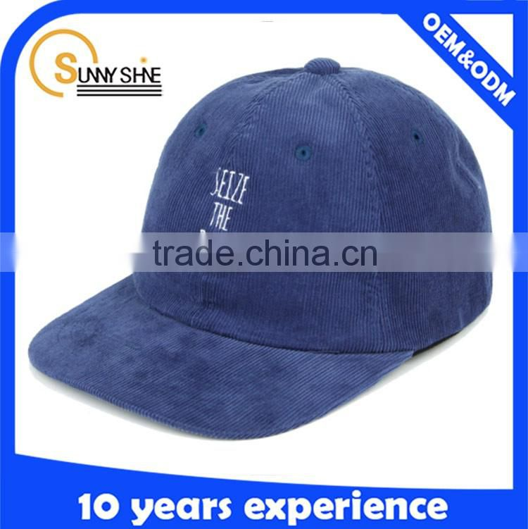 Wholesale high quality unstructured baseball cap