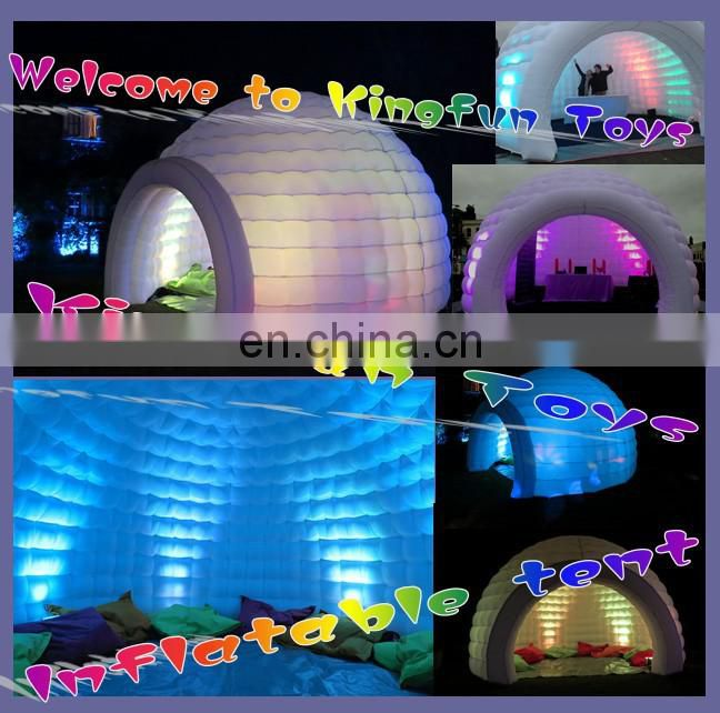 10M Party/stage/event/exhibition/activity inflatable igloo dome