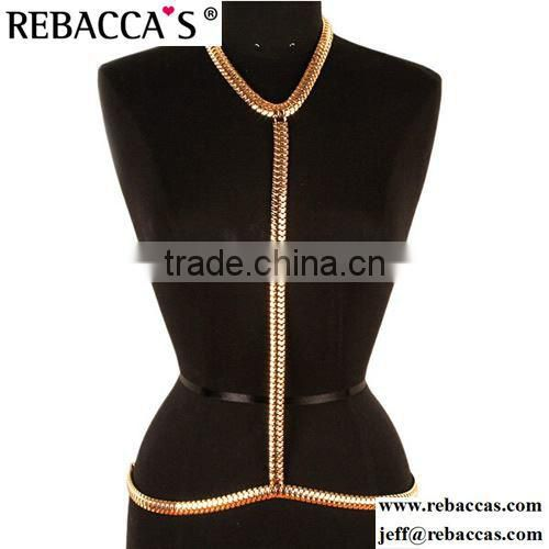 Celeb Sexy Women Bikini Beach Belly Waist Chain Waistband Body Link Belt Jewelry wholesale body chain