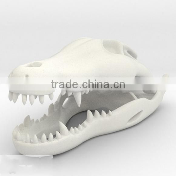 custom make 3d plastic sculpt animal skull model,OEM make animal bones skull plastic models