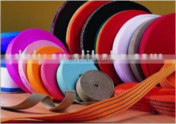 Yellow 100% Nylon webbing tape
