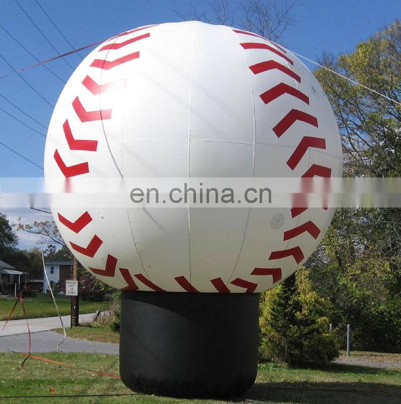 large inflatable ball inflatable baseball for advertising