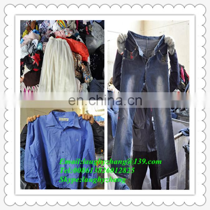 Second Hand Clothing Door to Door Original UK used clothes