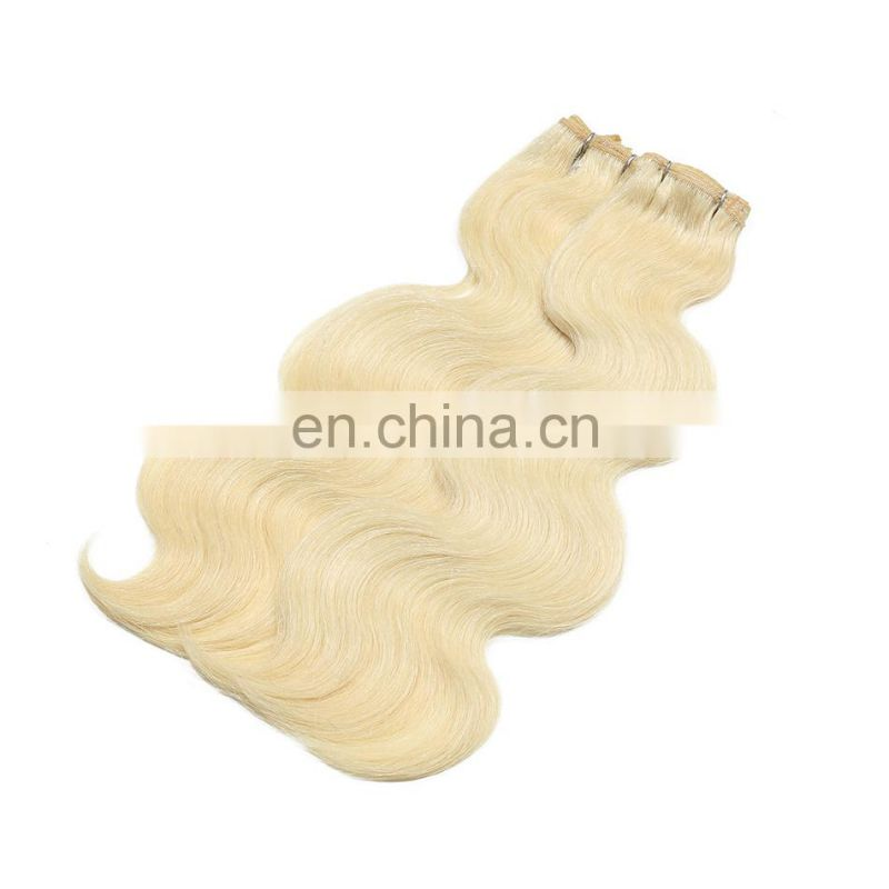 Best Quality Blonde European Remy Human Hair Most Expensive Hair Weave