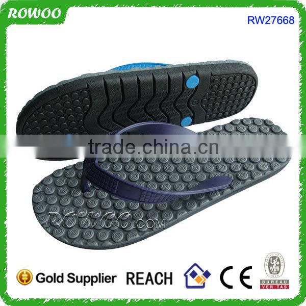 plastic wholesale cheap eva flip flop custom in china