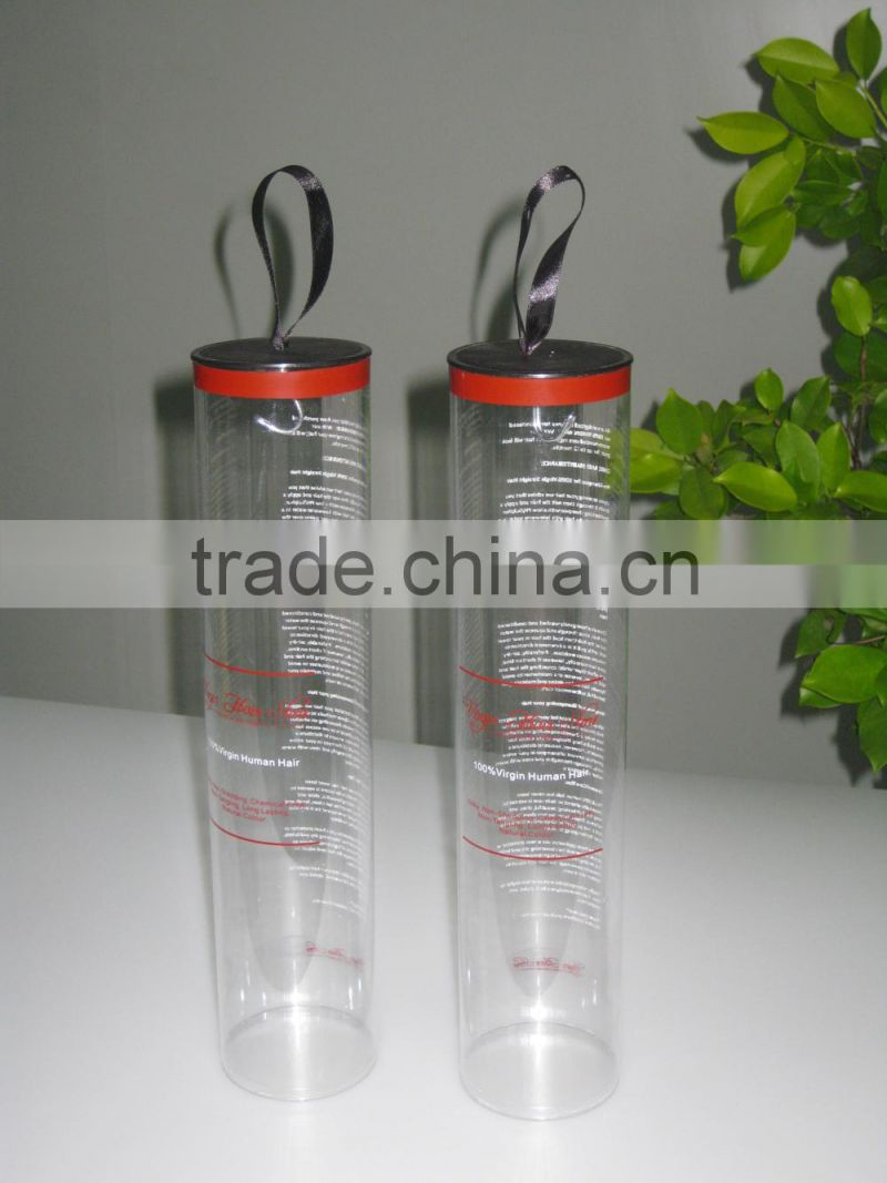 Packaging tube for hair extension