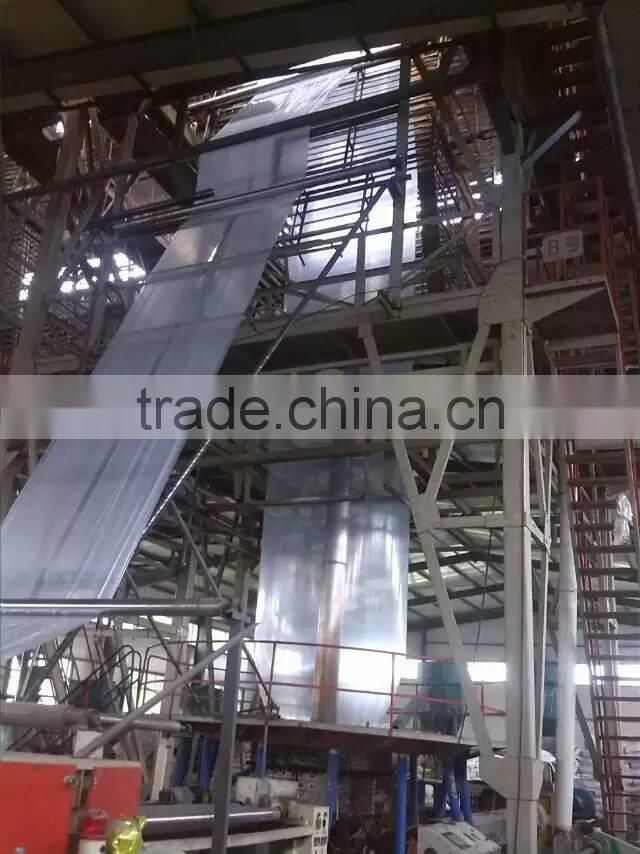 plastic film manufacturer Clear and whrite uv protection greenhouse plastic film for sale