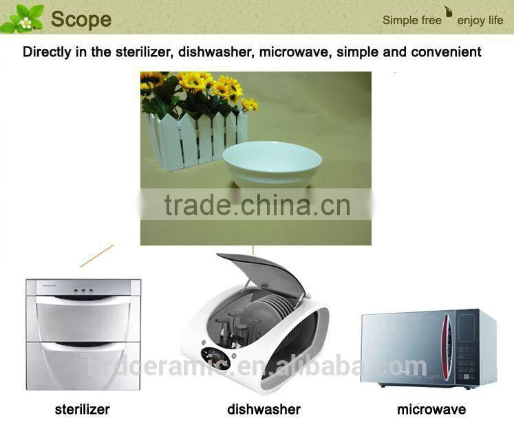 promotional new design korean style ceramic bowl wholesale