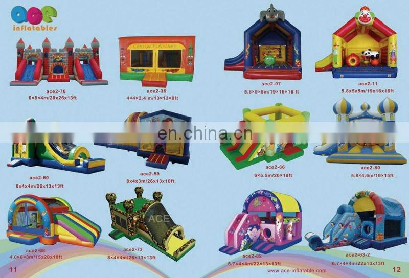 2012 new inflatable combo games