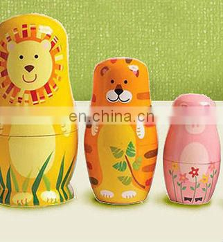 different size wooden nesting dolls for decoration, make life size doll