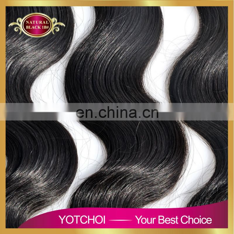 weave hair weft 100% unprocessed natural color Funmi curly human hair