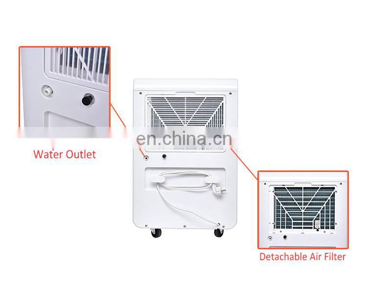 70L/day data entry work home dehumidifier greenhouse 220V dehumidifier