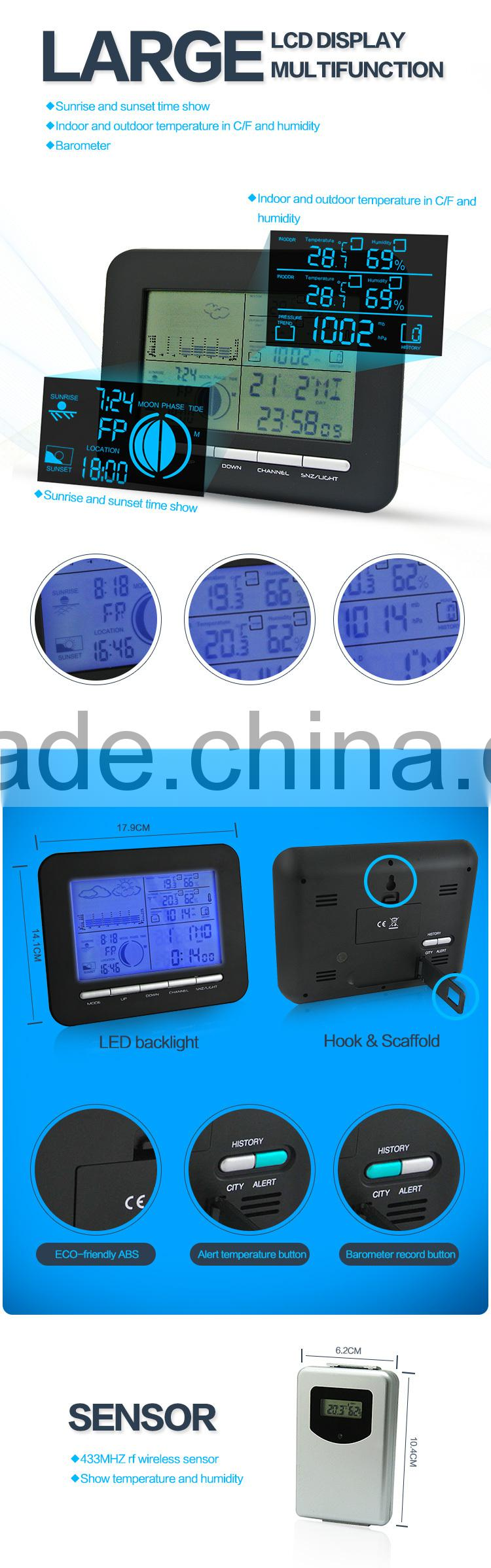 Wholesale Top Quality Various Colors & Designs Available Max Min Wall Mounted Thermometer