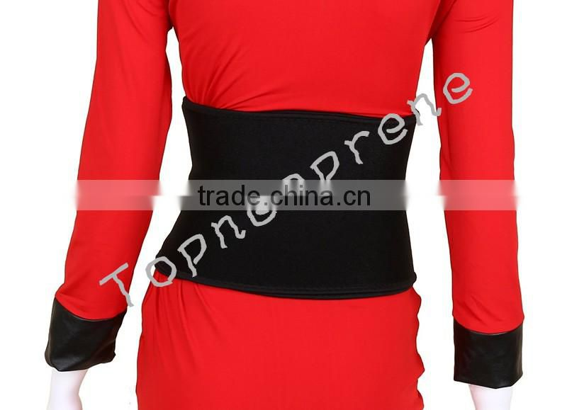 Waist Trimmer Belt Weight Loss Wrap Stomach Fat Burner Low Back and Lumbar Support with Sauna Suit Effect Best Abdominal