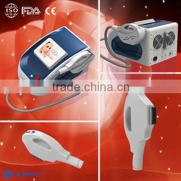 CE approved factory price 2014 new hot selling painless highest quality e-light(ipl+rf) beauty salon equipment